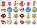 24 x Moshi Monsters Edible Wafer Paper Cake Toppers